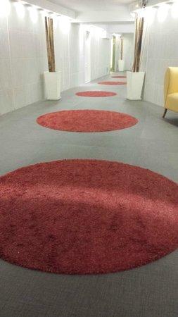 Evenia Zoraida Park: Corridor on the -1 floor