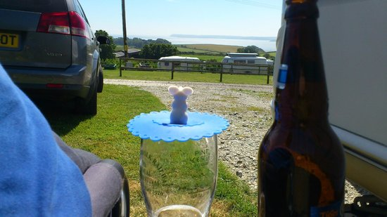 Penhale Caravan and Camping Park : Relaxing
