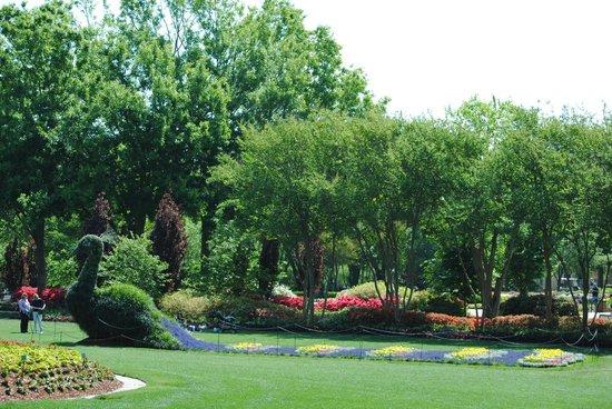 Dallas Arboretum & Botanischer Garten: Dallas Arboretum & Botanical Gardens