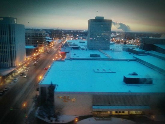 Hilton Garden Inn Saskatoon Downtown: Winter in Stoon