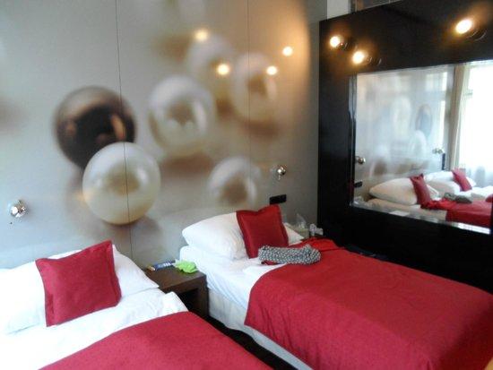 Perla Hotel: Diseño de la habitación