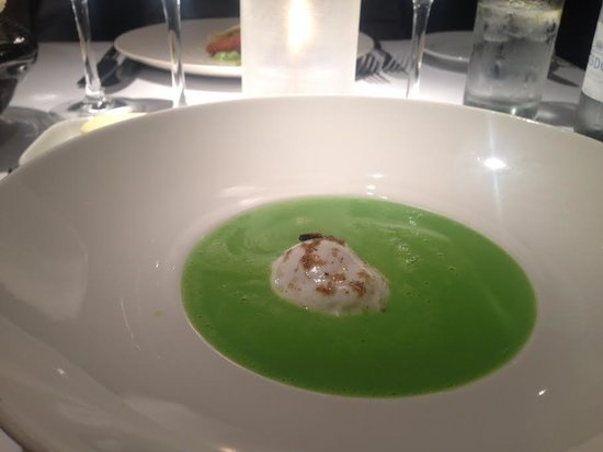 Chapter One : Veloute of Spring Pea and Poached Quail's Egg