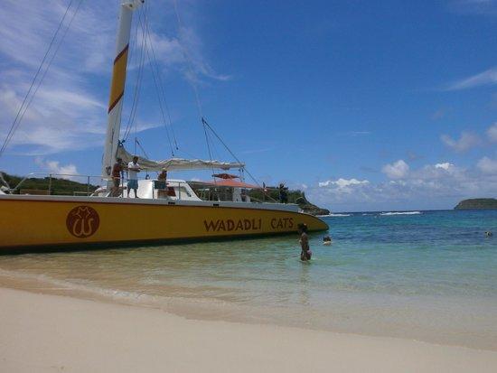 Sandals Grande Antigua Resort & Spa : Boat trip