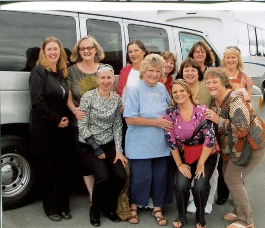 Quality Wine Tours : 5th time return guests  for a Scenic Fun Wine Tour 2014
