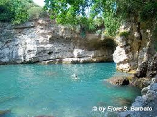 piscina naturale ai bagni della Regina Giovanna di Sorrento ...