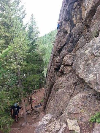 Apex Mountain School - Private Day Trips: nine year old conquers the climb!