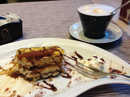 Al Quadrante: Tiramisu & Cappuccino