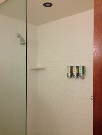Marcus Whitman Hotel & Conference Center : bathroom shower