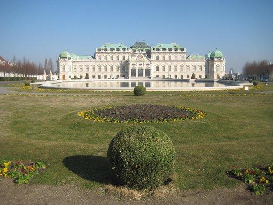 Belvedere Palace Museum : PALÁCIO BELVEDERE EM VIENA