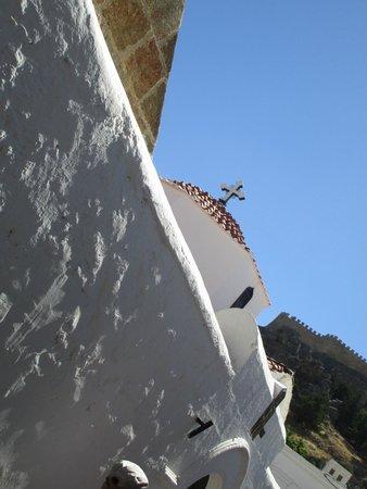 The Church of the Panagia : Esterno della chiesa