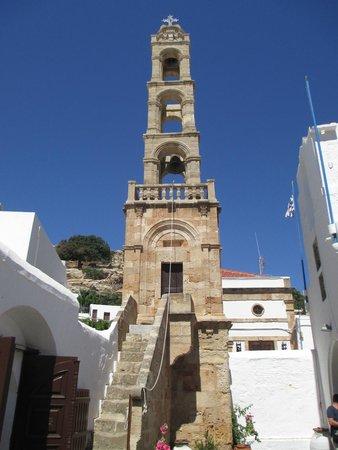 The Church of the Panagia : Campanile