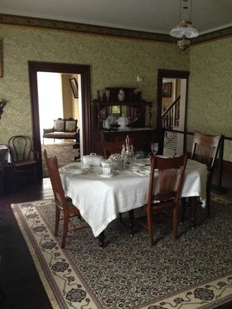 Frederick Douglass National Historic Site: dining room viewed from the kitchen