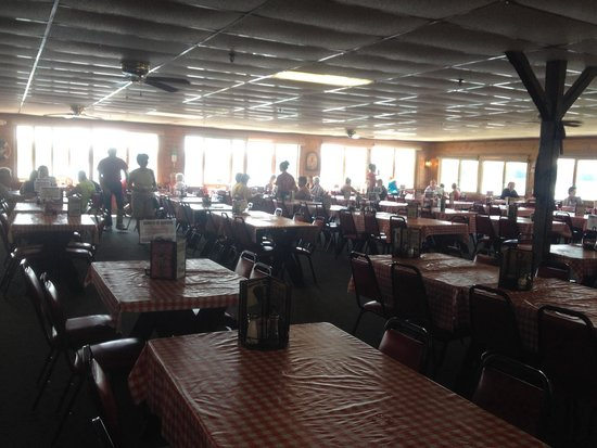 Newick's Lobster House: The view