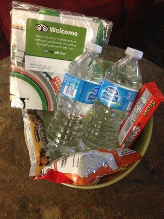 Best Western Plus Park Place Inn & Suites: welcome basket