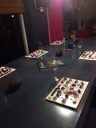 Ra, Chocolateria de Autor: Listo para la cata!