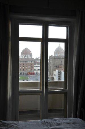 Hotel Ambasciatori : Vista desde habitación 2