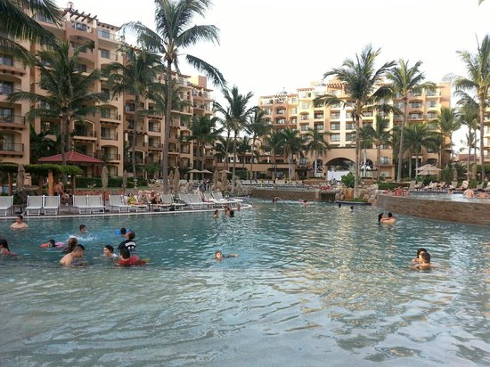 Villa Del Palmar Flamingos Beach Resort & Spa Riviera Nayarit : View of pool area