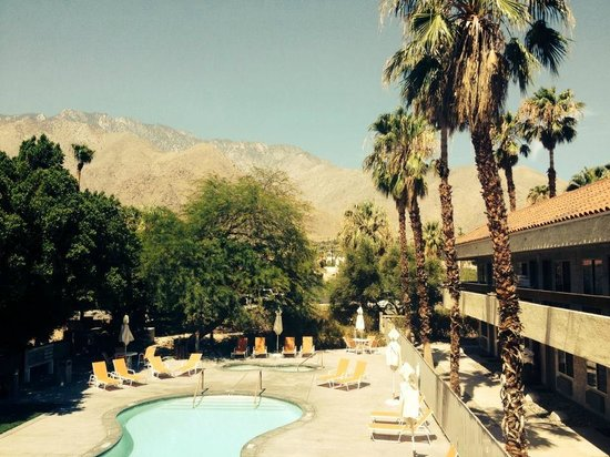 The Monroe Palm Springs: View from our room