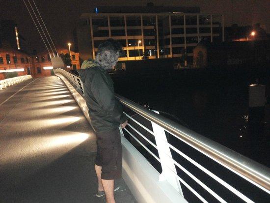 Samuel Beckett Bridge : E dopo i lucchetti...
