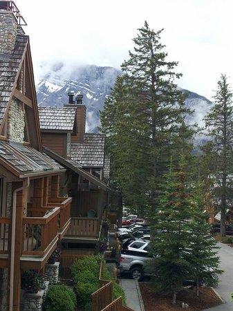 Hidden Ridge Resort: Our Balcony View