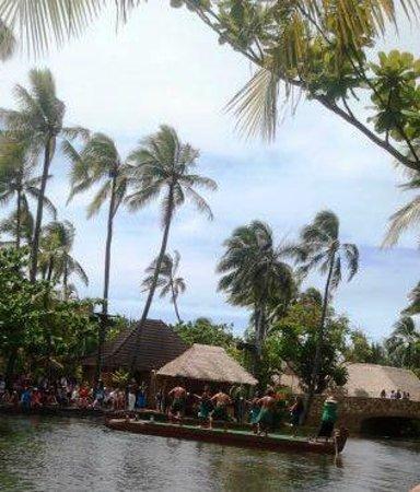 Polynesian Cultural Center : Very tropical setting