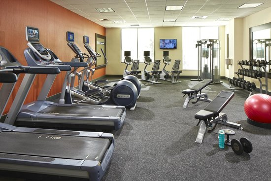 Hampton Inn San Diego/Mission Valley: 24/7 Fitness Room