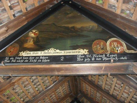 Chapel Bridge (Kapellbrucke): As pinturas