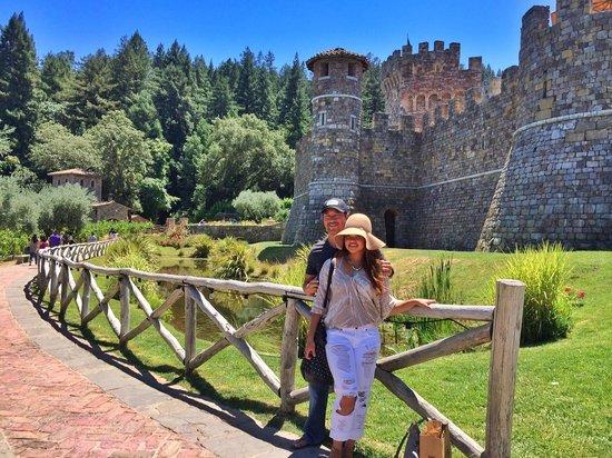 Castello di Amorosa: castle view