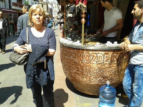 Ciya Sofrasi: Kadikoy il caffè turco(una sola volta...e mai più)