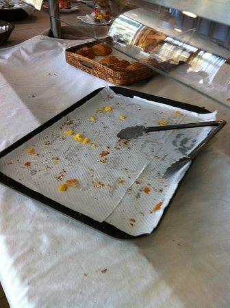 ALEGRIA Nautic Park : Desayuno pobre, se acabó casi todo