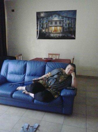 La Risacca : sala relax