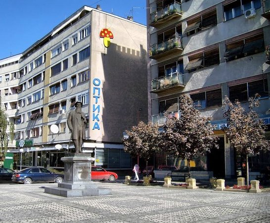 Zajecar, Serbie : Trg Nikole Pašića, Zaječar