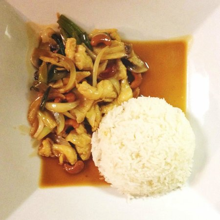 Just Thai: Cashew Nuts over Rice
