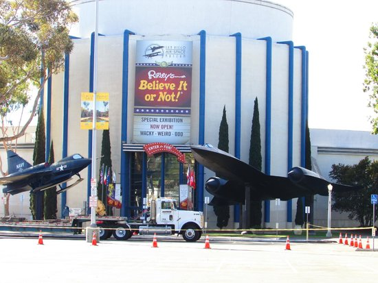 San Diego Air & Space Museum no Balboa Park