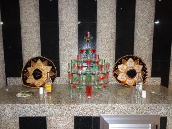 ClubHotel Riu Bambu: Jantar mexicano!