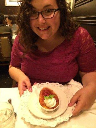 Hy's Steak House - Waikiki: Happy Birthday to Me - Coconut Creme Brule