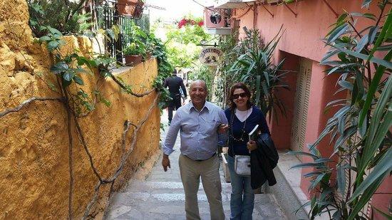 Ruelas e becos de Anafuótica, Monastiraki