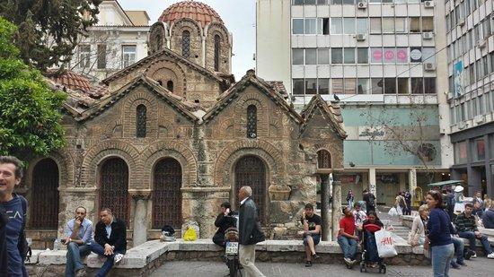 Igreja Panaghia Kapnikarea - Rua Ermou - Monastiraki