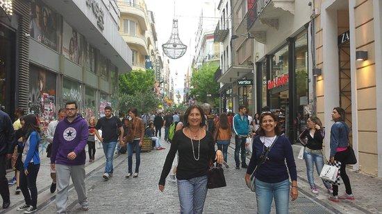 Rua Ermou - Bairro Monastiraki