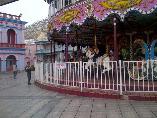 Changsha Window of the World: merry-go-round