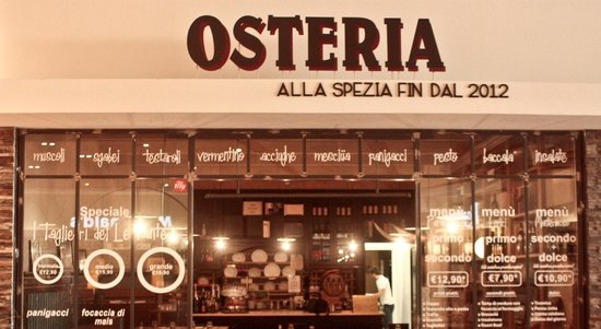 Centro Commerciale Le Terrazze - Picture of Osteria Ligure, La ...