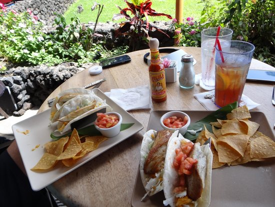 Leilani's On The Beach: Fish taco perfection right there!