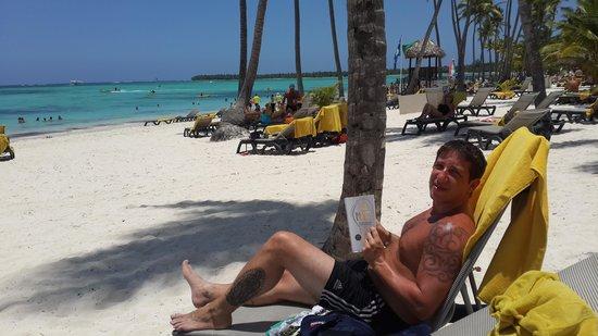 Barcelo Bavaro Palace Deluxe: playa paradisiaca