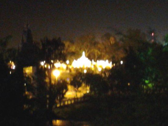 Diamond Palace II: view from my room 1