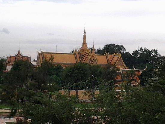 Diamond Palace II : view from my room 2