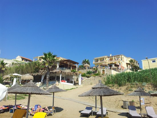 Delfino Blu Boutique Hotel: from the beach