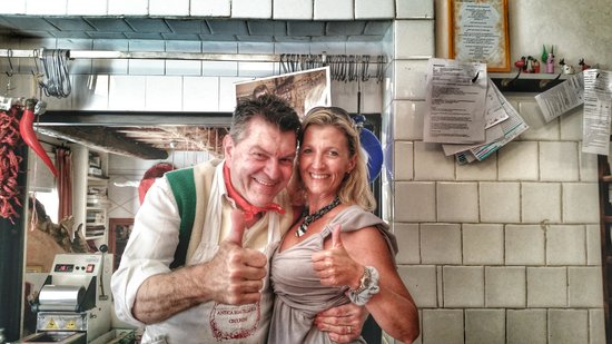 Tuscan Wine Tours by Grape Tours: Dario the crazy butcher