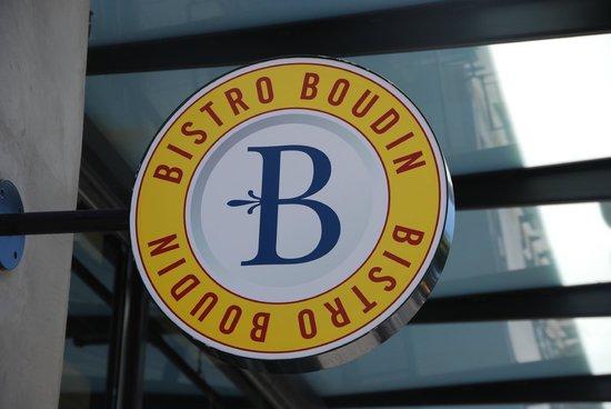 Bistro Boudin : Sign