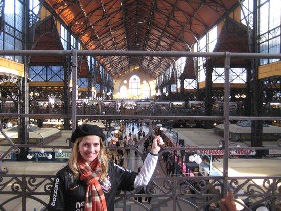 Central Market Hall: Mercado Municipal de Budapeste