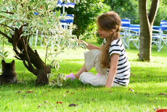 Hotel Villa Emilia : Im Garten 2